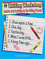 Writing Workshop Grd K 3 PDF