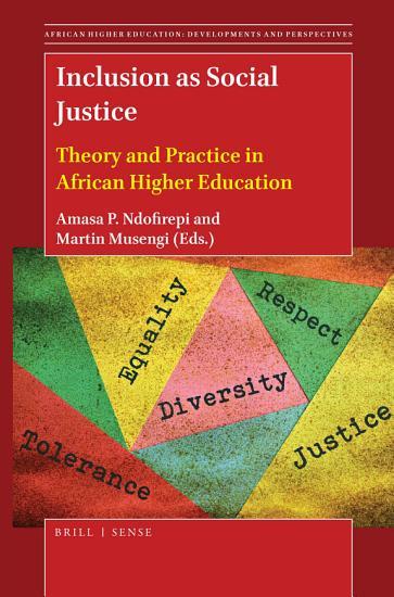 Inclusion as Social Justice PDF