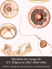 Résultats du voyage du S.Y. Belgica en 1897-1898-1899: Rapports scientifiques. Zoologie, Volume1