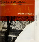 Catalogue of University of Iowa PDF