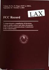 FCC Record PDF