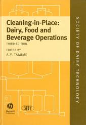 Cleaning-in-Place: Dairy, Food and Beverage Operations, Edition 3