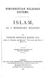 Islam as a Missionary Religion