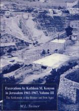 Excavations by Kathleen M  Kenyon in Jerusalem 1961 1967  Volume III PDF