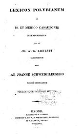 Lexicon Polybianum: ab is. et merico casaubonis
