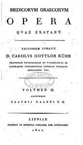 Medicorum Graecorum opera quae exstant: Τόμος 2,Τεύχος 2