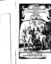 Achillis Tatii Alexandrini Erōtika, Ex libris veteribus Correcta, aucta, restituta. Nova Editio cum versione. Adjectvs Est. Notarum Et Emendationvm Liber