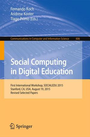 Social Computing in Digital Education