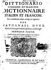 Dittionario italiano, et francese