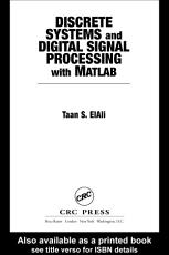 Discrete Systems and Digital Signal Processing with MATLAB PDF