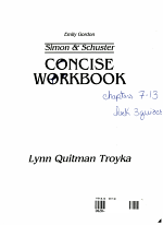 Simon and Schuster Concise Workbook
