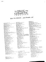 Drug & Cosmetic Industry