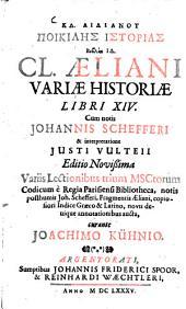 Cl. Aeliani variae historiae libri XV