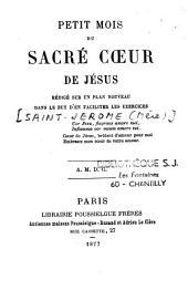 Petit mois du Sacré-Coeur de Jésus
