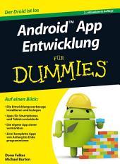 Android App Entwicklung für Dummies