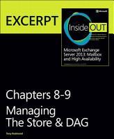 Managing the Store   DAG PDF