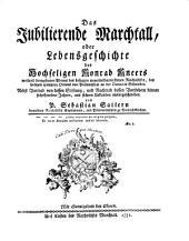 Das jubilierende Marchtall: oder, Lebensgeschichte des hochseligen Konrad Kneers