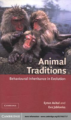 Animal Traditions PDF