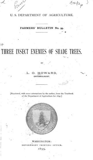 Three Insects Enemies of Shade Trees PDF