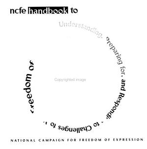 NCFE Handbook to Understanding  Preparing For  and Responding to Challenges to Your Freedom of Artistic Expression PDF