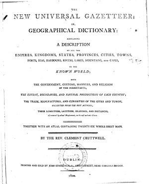 The New Universal Gazetteer