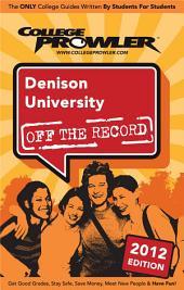 Denison University 2012
