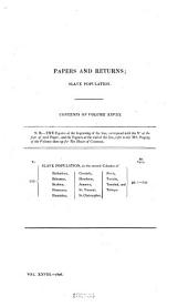 Parliamentary Papers: 1780-1849, Volume 28