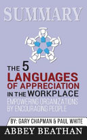 Summary of The 5 Languages of Appreciation in the Workplace