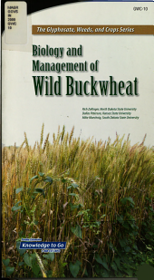 Biology and Management of Wild Buckwheat