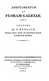 Additamentum ad floram Galiciae