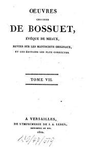 Oeuvres choisies de Bossuet ...