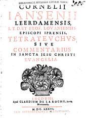 Tetrateuchus sive commentarius in sancta Jesu Christi evangelia