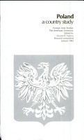 Poland  a Country Study PDF