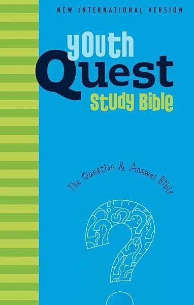 NIV  Youth Quest Study Bible  eBook PDF