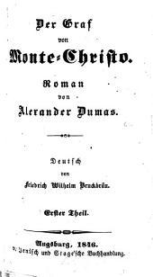 Der Graf von Monte-Christo: Band 1