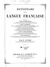 Dictionnaire de la langue française: Volume2,Numéro2