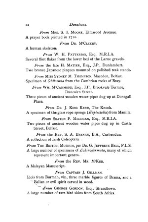 Report and Proceedings of the Belfast Natural History   Philosophical Society PDF