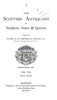 The Scottish Antiquary  Or  Northern Notes   Queries PDF