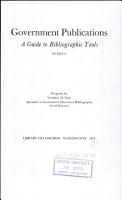 Government Publications PDF