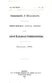 Annual Report of the Board of Railroad Commissioners: Part 34