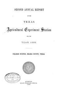 Annual Report   The Texas Agricultural Experiment Station PDF
