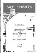 Magnificat and Nunc Dimittis in F