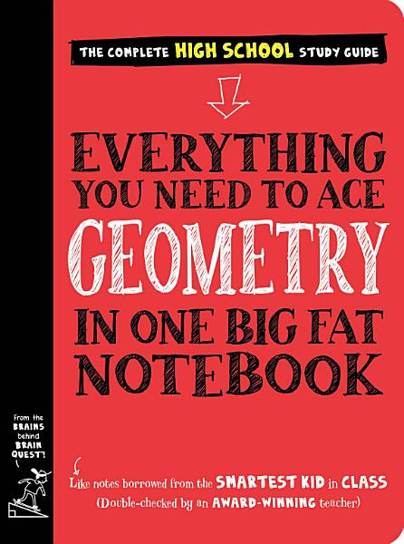 Download Everything You Need to Ace Geometry in One Big Fat Notebook Book