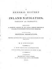 A general history of inland navigation