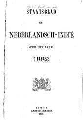 Staatsblad van Nederlandsch Indië: Volume 1882,Nummer 1