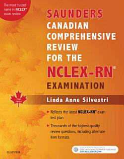 Saunders Canadian Comprehensive Review for the NCLEX RN Book