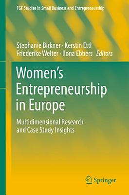 Women s Entrepreneurship in Europe