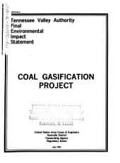 Coal Gasification Project, Murphy Hill Site: Environmental Impact Statement, Volume 1