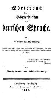 W  rterbuch   ber die Schwierigkeiten der deutschen Sprache PDF