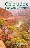 Colorado s Canyon Country PDF
